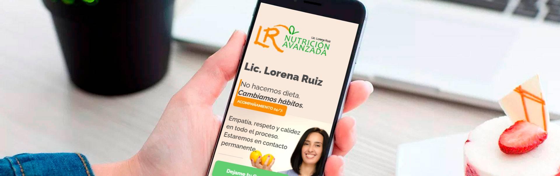 Lorena Ruiz Nutricion